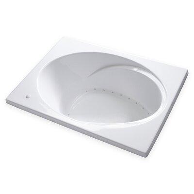 Hygienic Air Massage 60 x 42 Bathtub Drain Location: Right