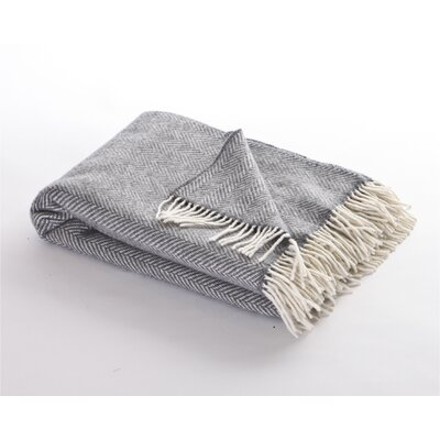 Herringbone Merino Wool And Cashmere Mix Comfort
