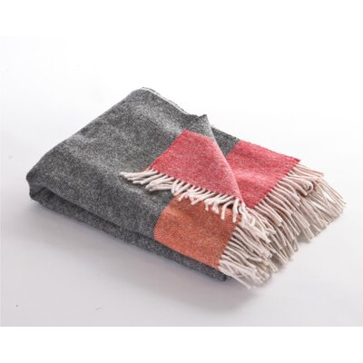 Stripe Retro Snug Sheep Wool Throw
