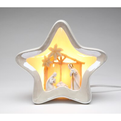 Star Shape Nativity Night Light