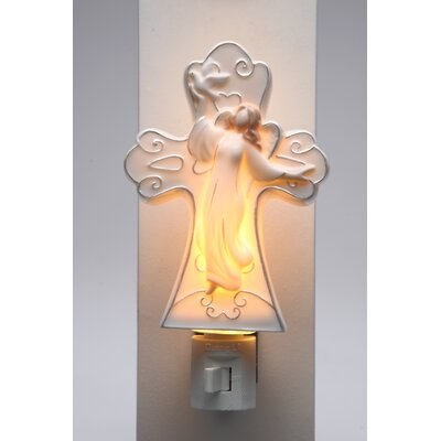 Angel with Dove Plug Night Light