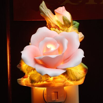 Rose Night Light Color: Pink