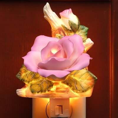 Rose Night Light Color: Purple