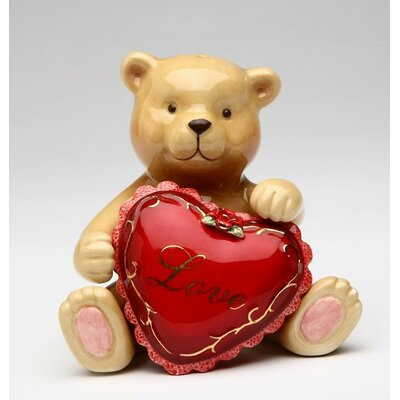Magnetic Teddy Bear with Love 10328
