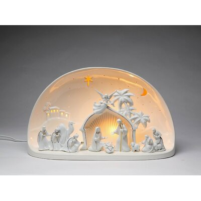 Nativity Scene Dome Night Light 33189