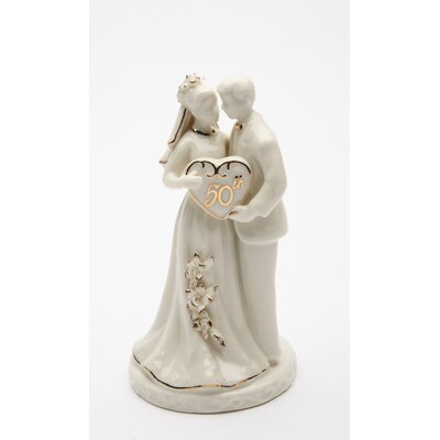 Everlasting 50th Anniversary Couple Figurine