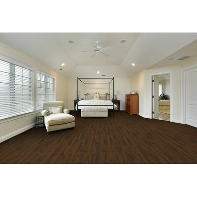 Morgan Hill 6 x 51 x 8mm Tile Laminate Flooring in Stewart Blackwood