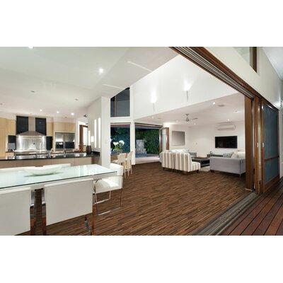 Saranac 7.5 x 51 x 12mm Tile Laminate Flooring in Exotic Butcher Block