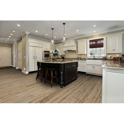 Saranac 7.5 x 51 x 12mm Tile Laminate Flooring in Watkins Hickory