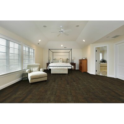 Saranac 7.5 x 51 x 12mm Tile Laminate Flooring in Rusty Chestnut