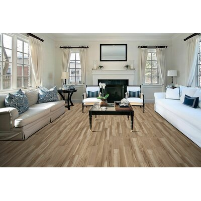 Stone Harbor 8 x 51x 8mm Tile Laminate Flooring in Bryant Hickory
