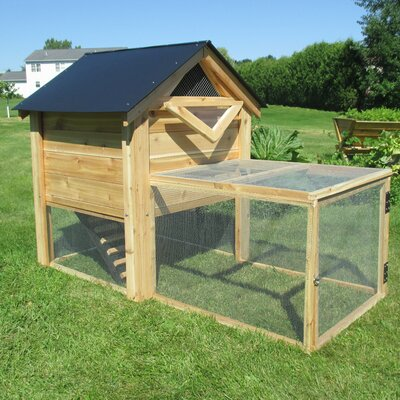 The Ultimate Backyard Chicken Coop with Chicken Run