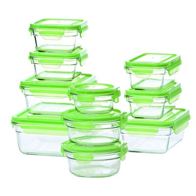 20-Piece Food Storage Container Set GL-2000