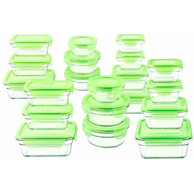 Glasslock 40-Piece Food Storage Container Set GL2000-1