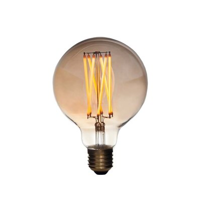 E26/Medium (Standard) LED Vintage Filament Light Bulb Wattage: 3
