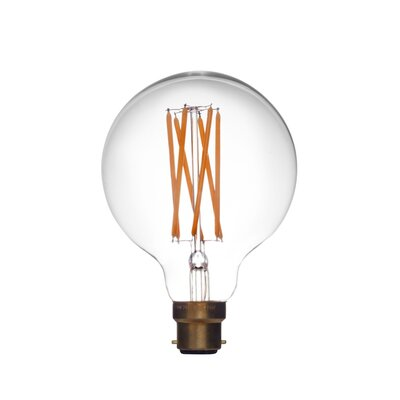 E26/Medium (Standard) LED Vintage Filament Light Bulb Wattage: 6