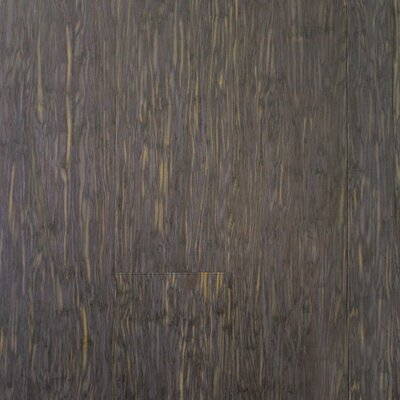 ColorFusion 4-13/16 Engineered Strandwoven Bamboo Flooring in Steel