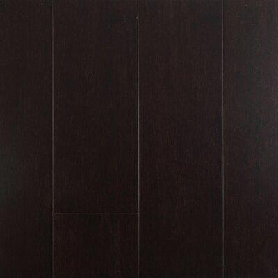 4-1/2  Solid-Lock Strandwoven Bamboo Flooring in Dark Chocolate