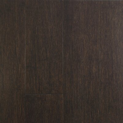 4-1/2  Solid-Lock Strandwoven Bamboo Flooring in Charcoal