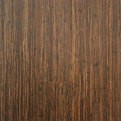 ColorFusion 5 Engineered Strandwoven Bamboo Flooring in Crushed Wheat