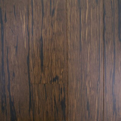 ColorFusion 4-3/4 Engineered Strandwoven Bamboo Flooring in Stormy Night