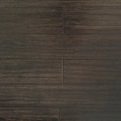 5-17/27 Solid Strandwoven Bamboo Flooring in Amaretto