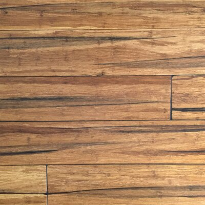 5-2/3 Solid Strandwoven Bamboo Flooring in Peppercorn