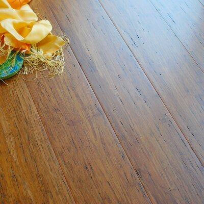 4-3/4 Engineered Strandwoven Bamboo Flooring in Weathered Wood