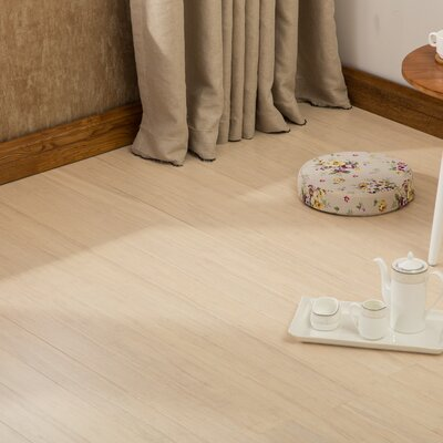 4-1/2  Solid-Lock Strandwoven Bamboo Flooring in Frost