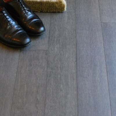 4-1/2 Solid Bamboo  Flooring in Mineral Gray