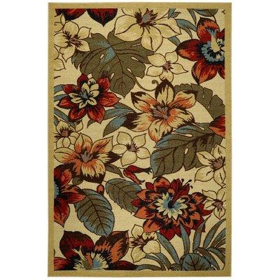 Beauchamp Square Floral Doormat Mat Size: 16 x 27