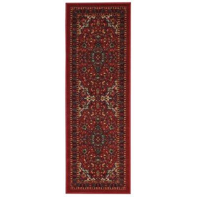 Harland Floral Doormat Rug Size: Runner 110 x 69