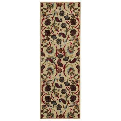 Harland Floral Indoor Doormat Rug Size: Runner 18 x 411