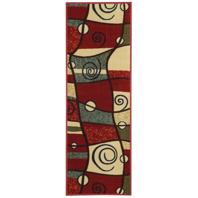 Beauchamp Square Maxy Home Geometric Shapes Area Rug Rug Size: Runner 110 x 69
