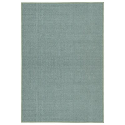 Jupiter Inlet Colony Maxy Home Solid Single Color Plain Ocean Blue Area Rug Rug Size: 33 x 5