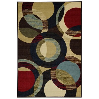 Beauchamp Square Black/Green Area Rug Rug Size: 5 x 66