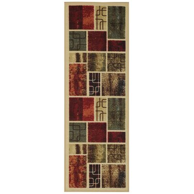 Hammam Maxy Home Contemporary Area Rug Rug Size: Runner 28 x 910