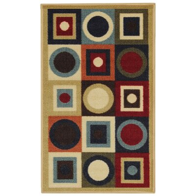 Hammam Maxy Home Contemporary Geometric Area Rug Rug Size: 5 x 66
