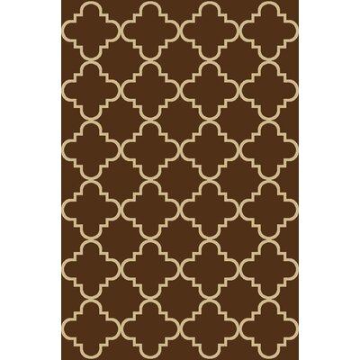 Beauchamp Square Brown Area Rug Rug Size: 33 x 5