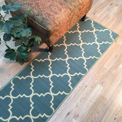 Beauchamp Square Moroccan Trellis Doormat Mat Size: Runner 18 x 411