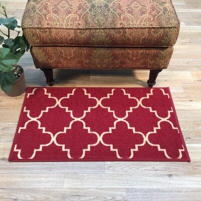 Beauchamp Square Moroccan Trellis Doormat Mat Size: 16 x 27