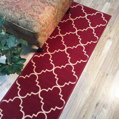 Beauchamp Square Moroccan Trellis Doormat Rug Size: Runner 18 x 411
