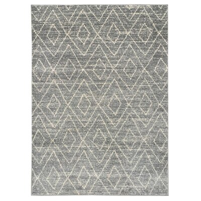 Zahra Gray Indoor/Outdoor Area Rug Rug Size: 3 x 5