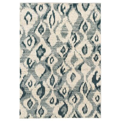 Zahra Cream/Beige Indoor/Outdoor Area Rug Rug Size: 3 x 5