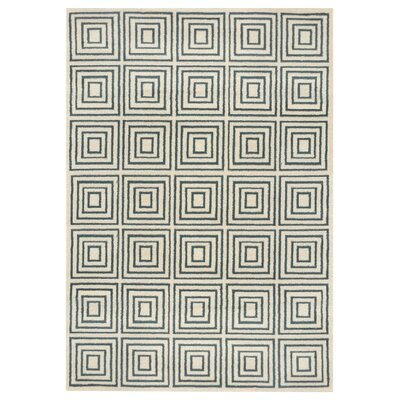 Zahra Gray Indoor/Outdoor Area Rug Rug Size: 5' x 7'