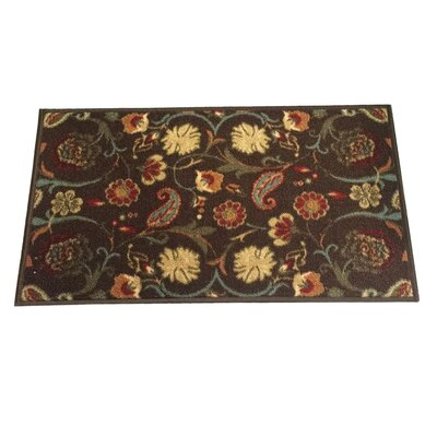 Hinman Brown Indoor/Outdoor Area Rug Rug Size: 8 x 11