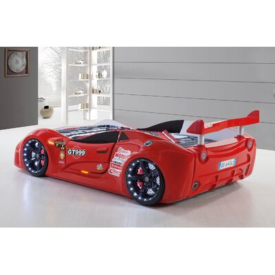 Goldie Turbo Race Car Bed Color: Red