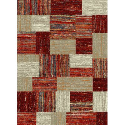 Bettis Anti-Bacterial Brown/Cream Indoor/Outdoor Area Rug Rug Size: 5 x 7