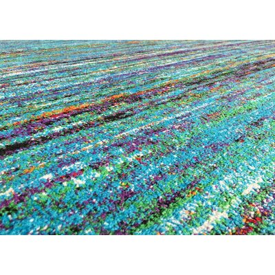 Bettis Anti-Bacterial Blue Indoor/Outdoor Area Rug Rug Size: 8 x 10