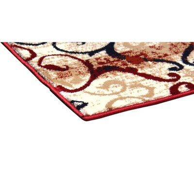 Doreen Decorative Modern Contemporary Southwestern Red/Beige/Black Area Rug Rug Size: 3 x 5